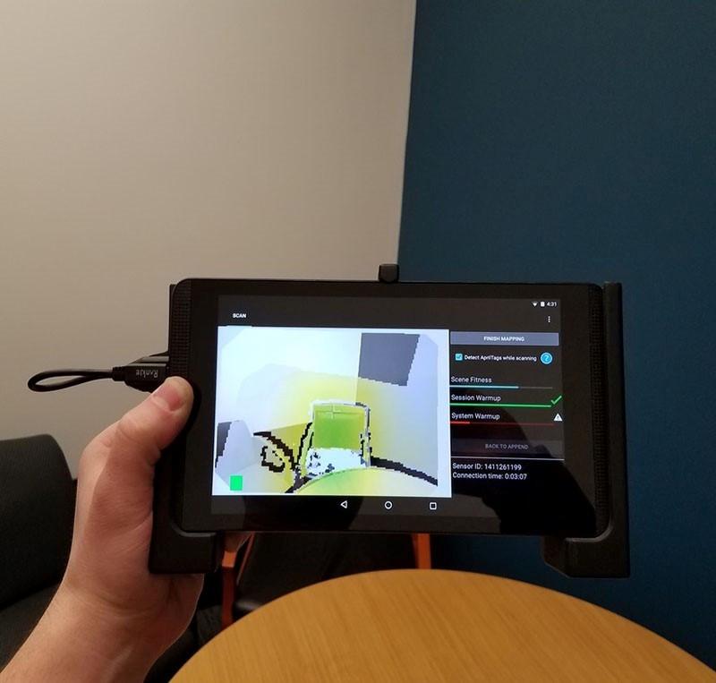 DPI-8X SR Handheld 3D Scanner
