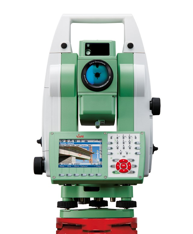 Leica TS15 Total Station with CS15